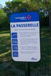 La Passerelle - Parcours d'agility de l'aire de Montélimar Est